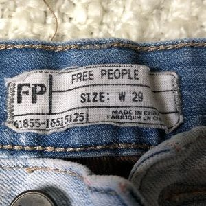 Free People Shorts - LIKE NEW 🍃Free people🍃 jeans shorts